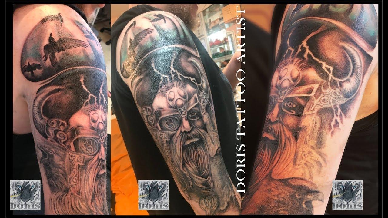 Viking Tattoo Sleeve Youtube