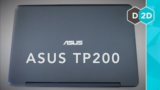 ASUS TP200 Review - A Budget 2-in-1 Laptop (2015)