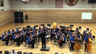 Can Can Basses by Sacajawea Middle School Orchestra Part 2 of 2
