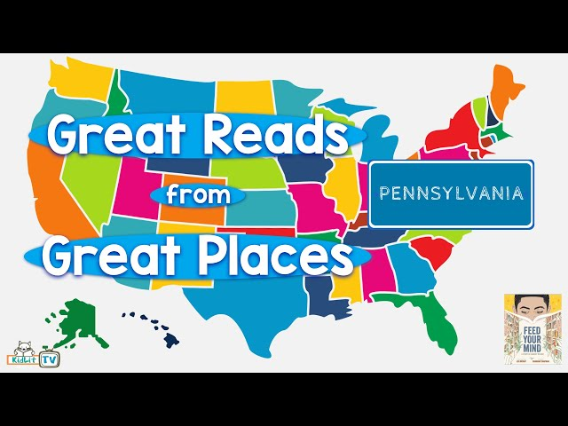 Great Reads from Great Places Jen Bryant's FEED YOUR MIND  Pennsylvania
