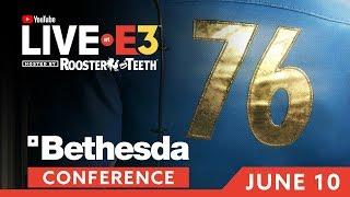 E3 2018: Bethesda Briefing & Presentation
