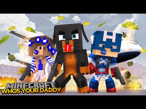 Minecraft - Donut the Dog Adventures -WHO'S YOUR DADDY!!TERROISTS ATTACK AIRPORT!!