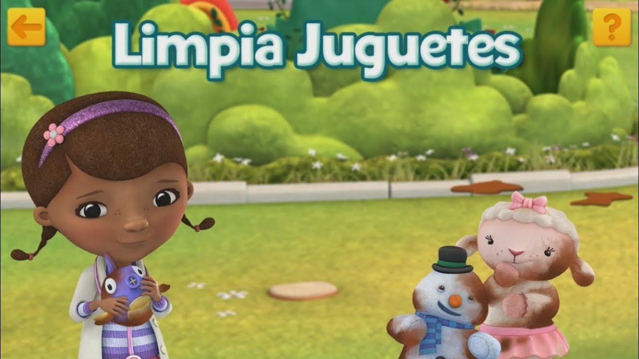 Doctora Juguetes Limpia Juguetes Aquí Para Ayudar Disney Junior Play Youtube