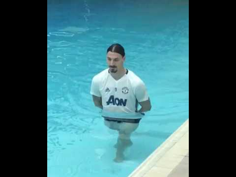 ZLATAN IBRAHIMOVIC PREPARES FOR THE EUROPA LEAGUE FINAL?!