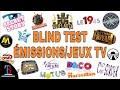 Gambar cover BLIND TEST ÉMISSION/JEUX TV DE 70 EXTRAITS AVEC REPONSES