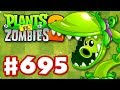 SNAP PEA! New Plant! - Plants Vs. Zombies 2 - Gameplay Walkthrough Part 695
