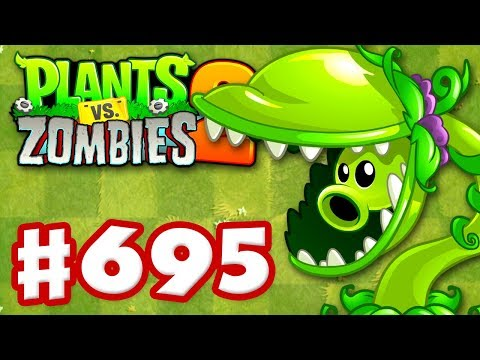 SNAP PEA New Plant - Plants vs Zombies 2 - Gameplay Walkthrough Part 695