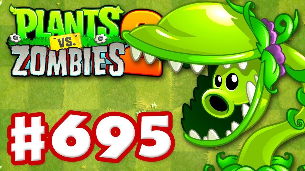 SNAP PEA! New Plant! - Plants vs  Zombies 2 - Gameplay Walkthrough Part 695