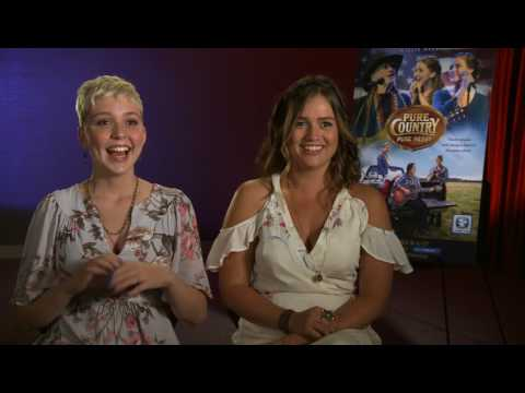 Interview to Kaitlyn Bausch & Cozi Zuehlsdorff of Pure Country Pure Heart