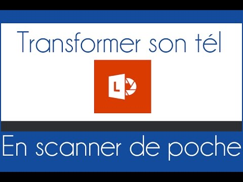 Transformer son smartphone en scanner(texte,photo...)