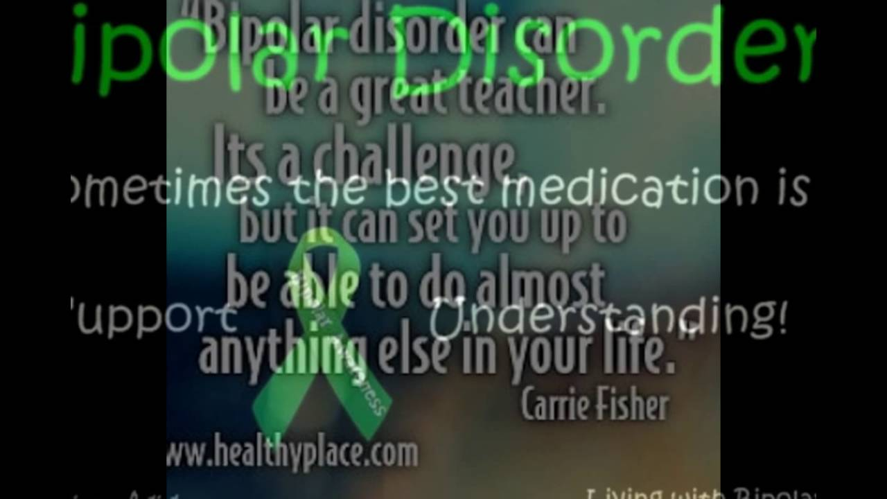 Ww Quotes Quotes On Bipolar Disorder  Youtube
