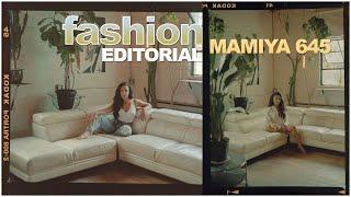 FASHION Film Photography on Mamiya 645 | medium format