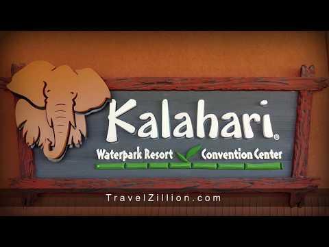 Kalahari Waterpark Resort In Ohio - A Walk Around Tour  | TravelZillion.com