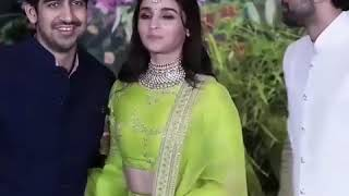 Alia and Ranbir arrives together at Sonam Kapoor's wedding