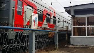 Воинский эшелон на станции Вологда