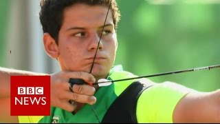 Rio 2016: Meet 'Archery's Neymar'  - BBC News