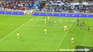 Clermont vs Toulouse Action sublime