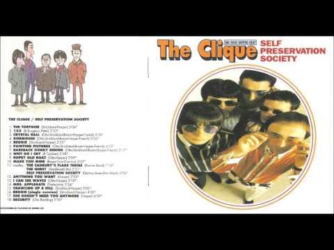 The Clique - Self Preservation Society [Japan edition/bonus tracks]