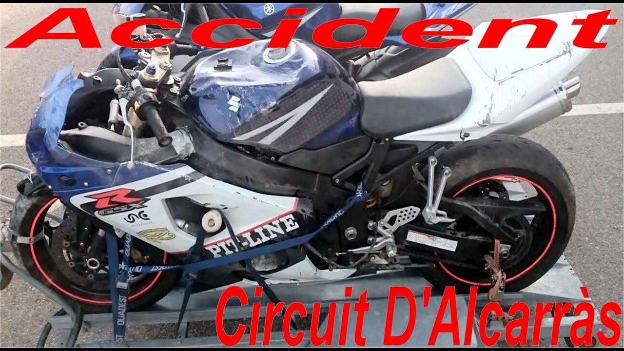 Circuito De Alcarras : Accident suzuki gsxr rr circuit d alcarràs ramon marin sj