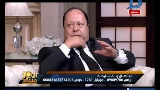 العاشرة مساء  فؤاد زبادى: مصر احتضنتنى وعبد المطلب استاذى والاب الروحى لى