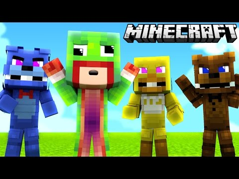 Minecraft - WHO'S YOUR DADDY? FNAF WORLD! BABY VS FNAF ANIMATRONICS!