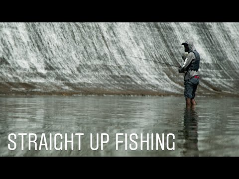 Fishing Behind A Hydroelectric Dam | Straight Up Fishing Georgia