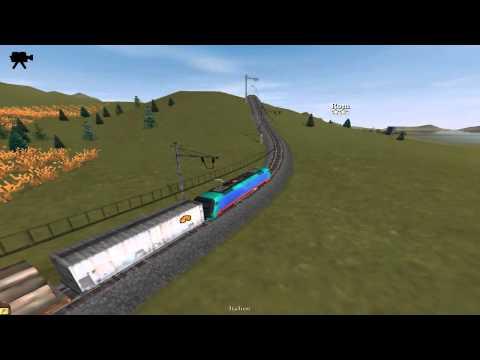 Italian E 412 Locomotive - Railroad Tycoon 3 Gameplay