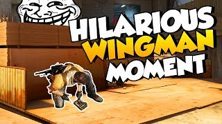 My most hilarious Wingman moment ever 2017 Video