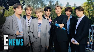 BTS Makes Official Return After Much-Needed Break | E! News