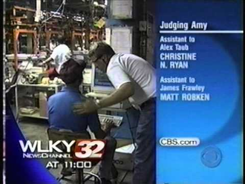 WLKY NewsChannel 32 at 11:00 - Open - 2003
