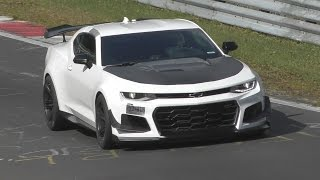 2018 Chevy Camaro ZL1 Nürburgring Record Attempt!
