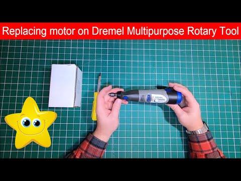 Replacing motor Dremel 800 Lithium-Ion 10.8V Multipurpose Cordless Rotary Tool DIY