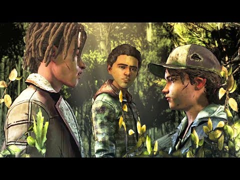 Flirt with Louis vs Hunt With Aasim - Every Single Choice - The Walking Dead The Final Season