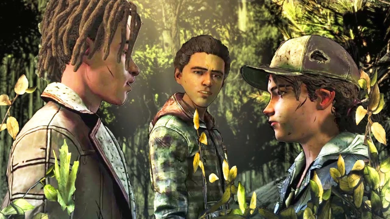 Download Flirt with Louis vs Hunt With Aasim - Every Single Choice - The Walking Dead The Final Season