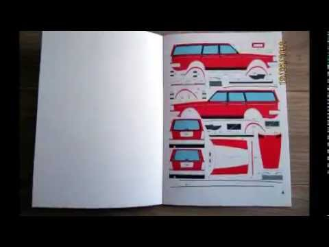 This Papercraft Volvo 240 Is Pure Lunacy W Video Autoblog
