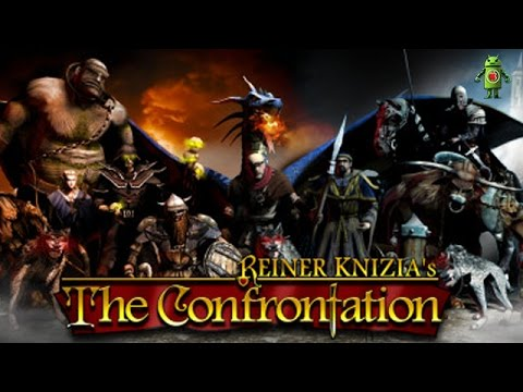 Reiner Knizia's The Confrontation (iOS/Android) Gameplay HD