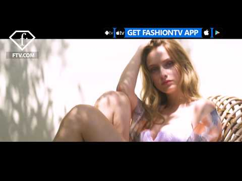 A DAY WITH BEATRICE VENDRAMIN YAMAMAY LINGERIE CAMPAIGN | FashionTV |FTV