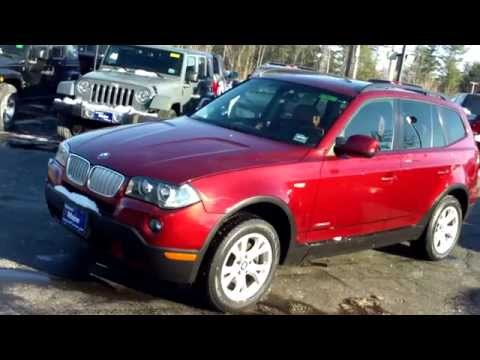 Best Price Used 2010 BMW X3 SUV Car Dealers in Maine Saco Portland Bangor Augusta