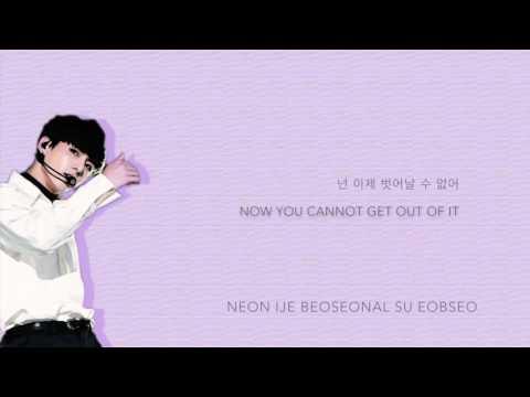 BTS Jungkook - 'Rainism' (Cover)[2016 MBC Gayo Daejejeon] [Han Rom Eng lyrics]