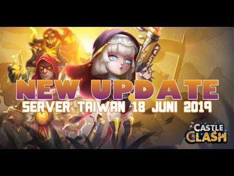 Pembaruan Castle Clash Server Taiwan L New Hero