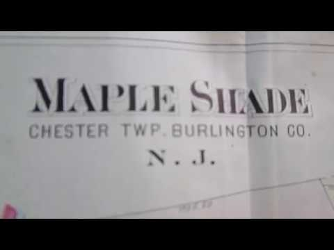 1907 Maple Shade NJ Map