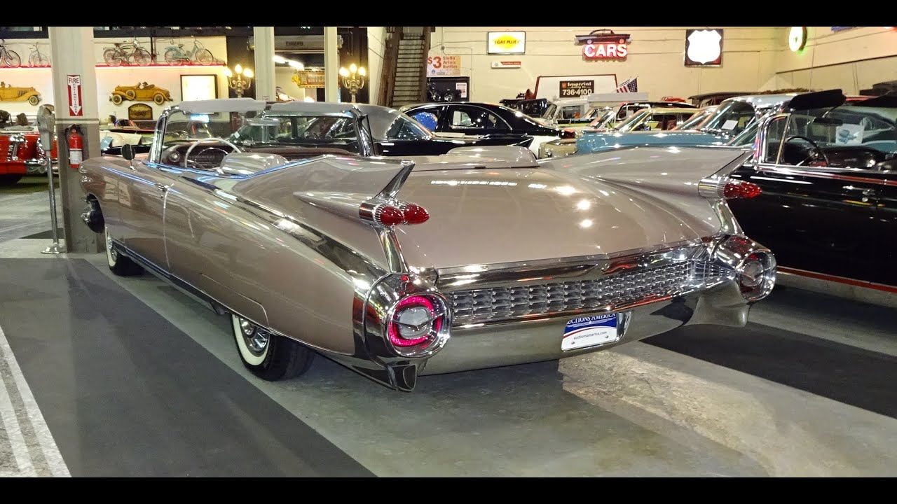 1959 Cadillac Caddy Eldorado Biarritz Convertible Great Tail Fins My Car Story With Lou Coile
