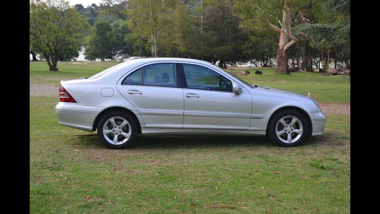 2006 Mercedes Benz C200 Kompressor Avantgarde 2679 Youtube