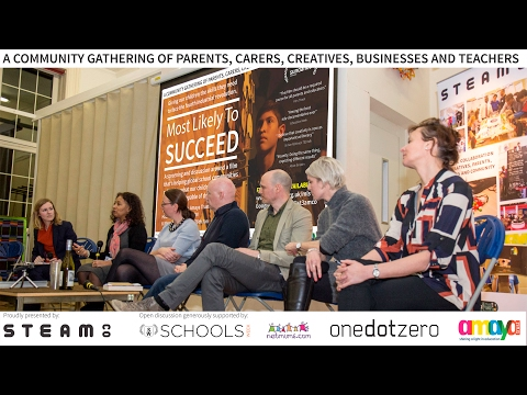 Film of a community Screening of 'Most Likely to Succeed' #SCOMLS