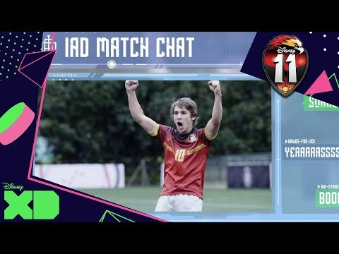 Disney 11 | The Golden Hawks Football Match with Academy Reactions | Official Disney XD Africa