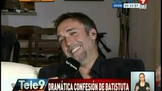 Dramática confesión de Batistuta
