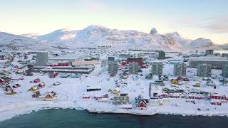 Colourful Nuuk in Winter