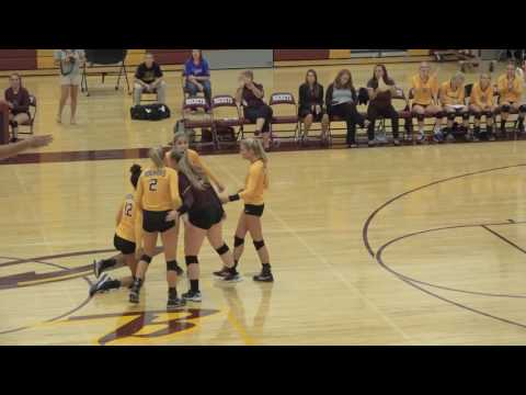 Richmond Burton High School Volleyball Highlights 8-30-16