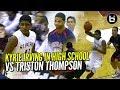 Kyrie Irving EPIC High School Game Vs Triston Thompson & Corey Joseph! Brings The SAUCE!!