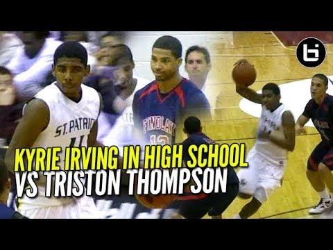 kyrie-irving-epic-high-school-game-vs-triston-thompson-corey-joseph-brings-the-sauce